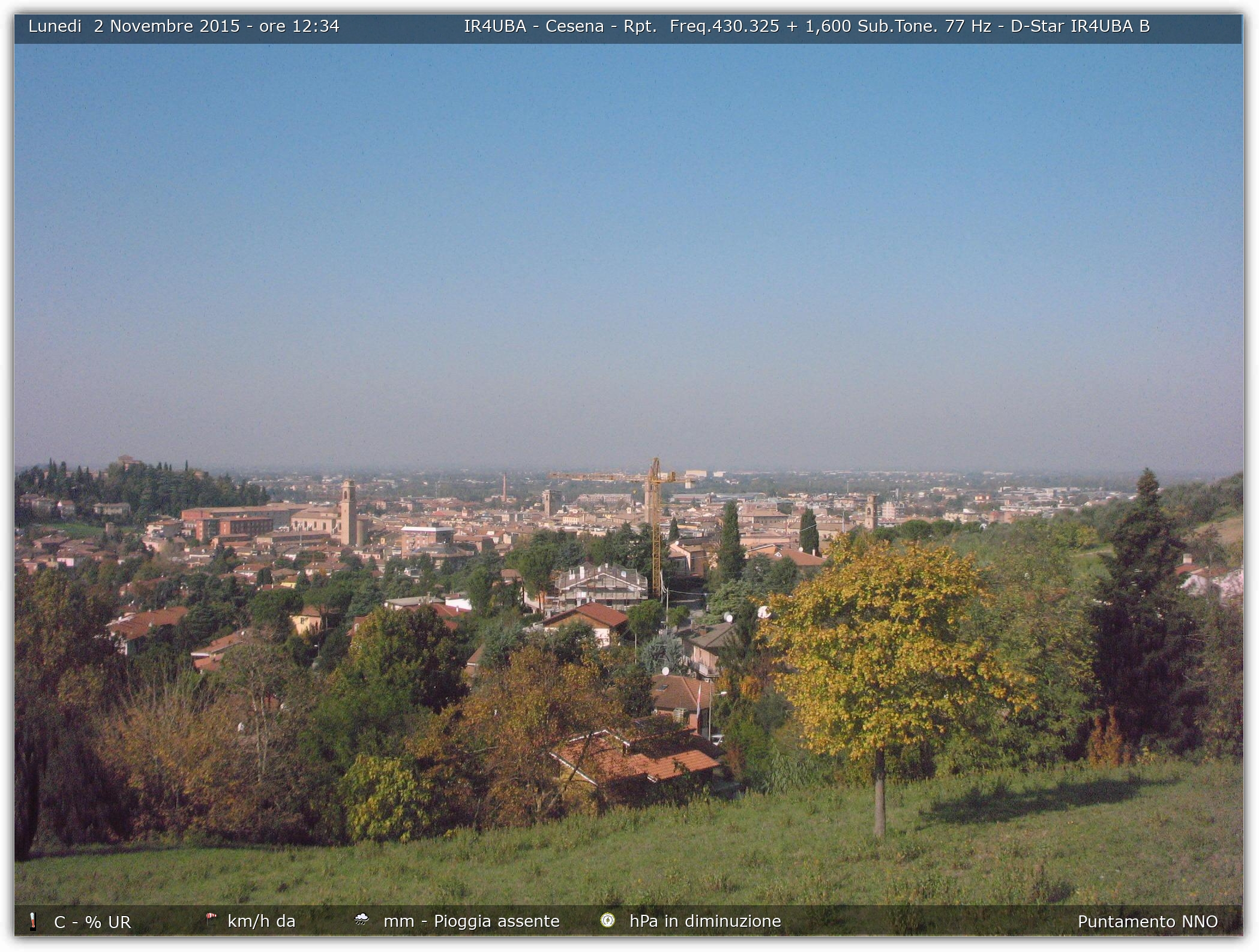 MeteoBellaria   Webcam